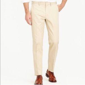 Jcrew men's Bowery classic fit pants
